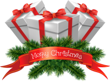 transparent_merry_christmas_presents_clipart