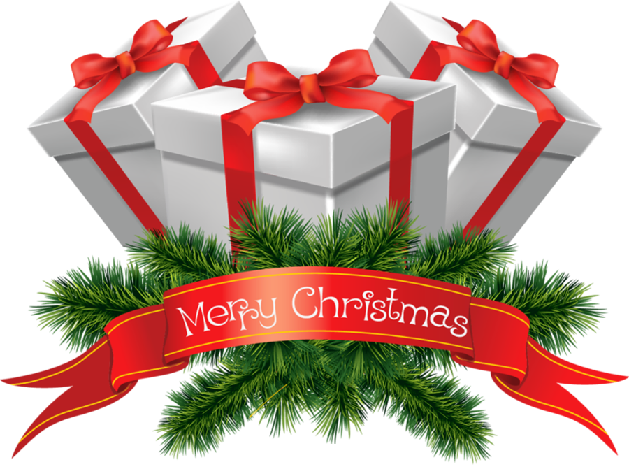 This image has an empty alt attribute; its file name is transparent_merry_christmas_presents_clipart.png
